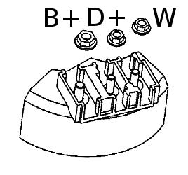 B+ D+ W