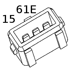 15 61E