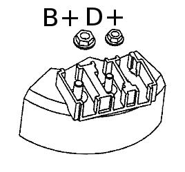 B+ D+