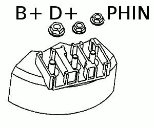 B+ D+ PHIN